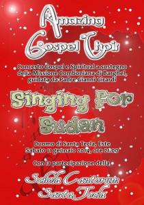 Singing for Sudan